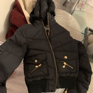 Twisted Heart Puffer jacket xs
